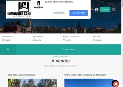 Immobilier Consulting International Maroc