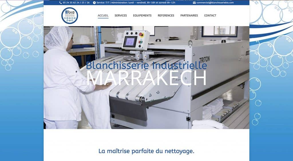 Blanchisserie Industrielle BIA