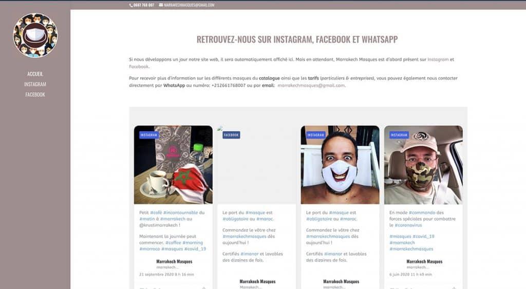 Marrakech Masques