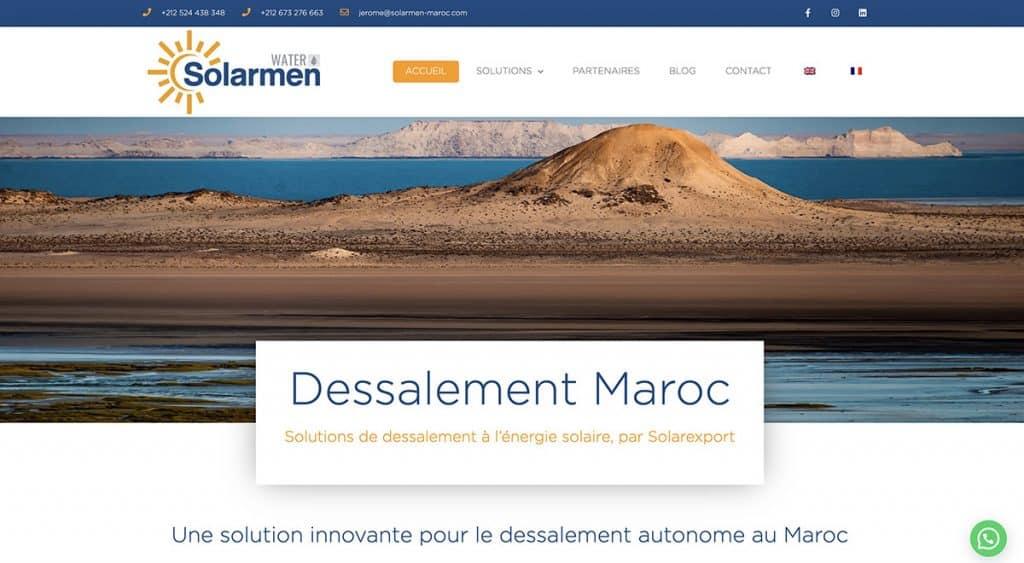 Dessalement Maroc